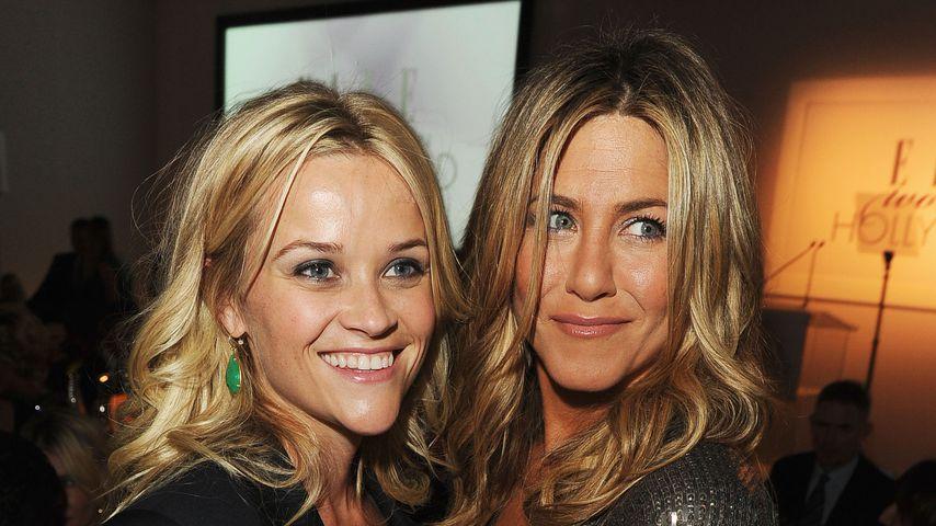 Reese Witherspoon und Jennifer Aniston, 2011