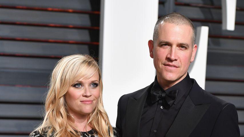 Reese Witherspoon und Jim Toth 2017 bei der Oscar-Party von Vanity Fair