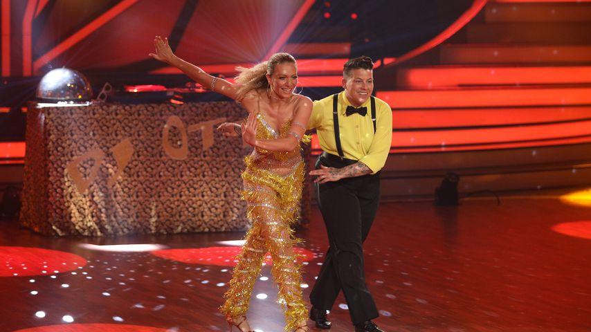 """Regina Luca und Kerstin Ott bei der vierten """"Let's Dance""""-Show"""