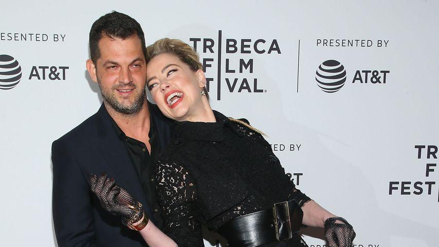 Regisseur Nabil Elderkin und Schauspielerin Amber Heard beim Tribeca Film Festival