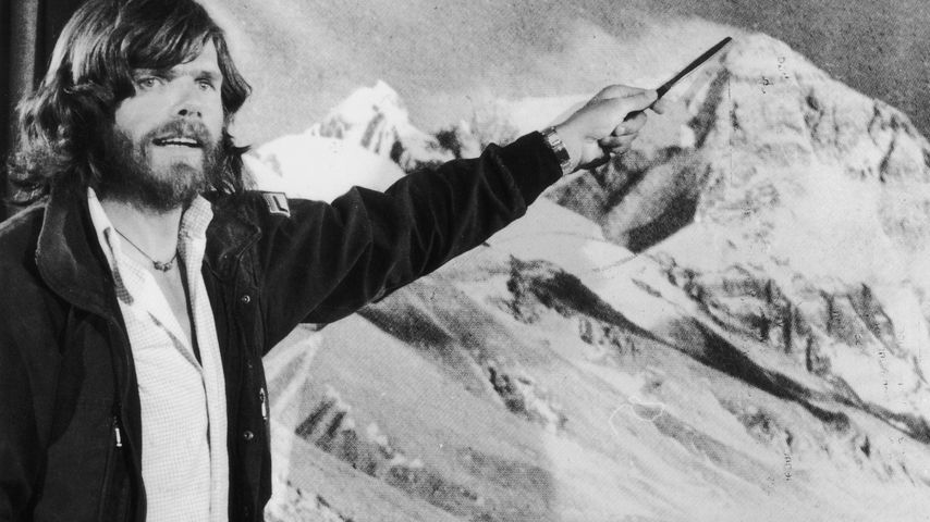 Reinhold Messner im Jahr 1980