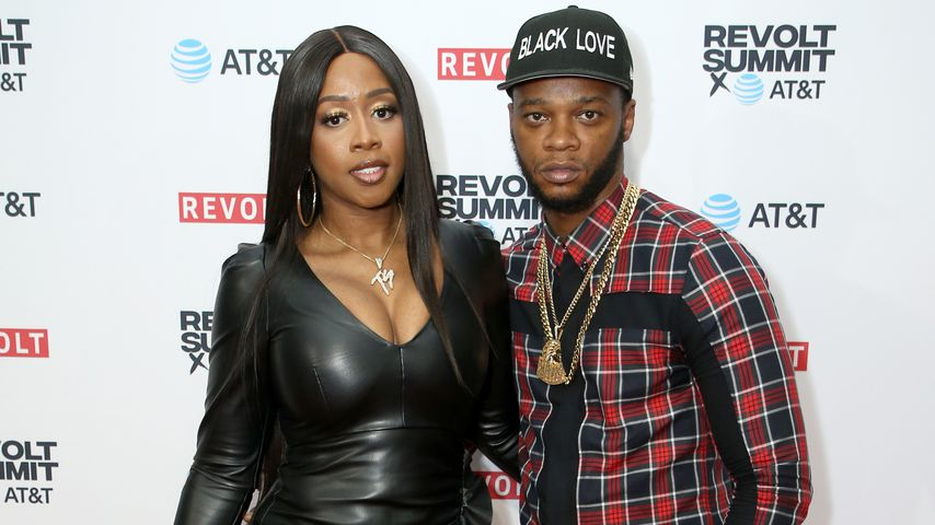 Remy Ma und Papoose in Los Angeles, 2019