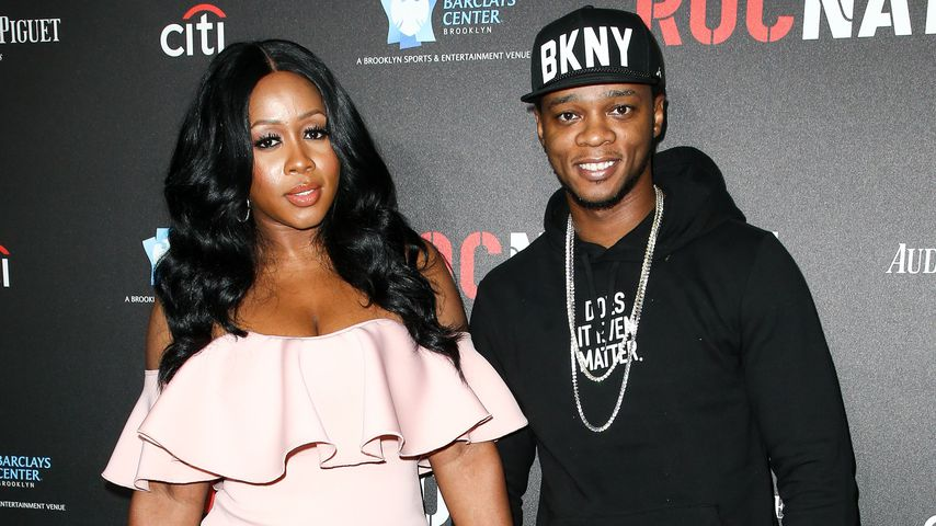 Remy Ma und Papoose in Los Angeles 2017