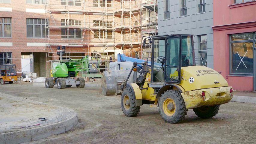 Bauarbeiten an der neuen GZSZ-Außenkulisse