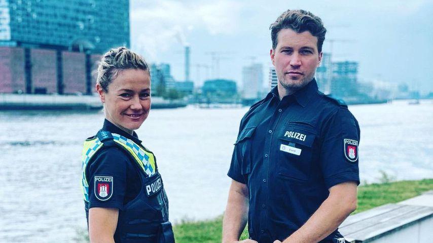 Rhea Harder und Raúl Richter