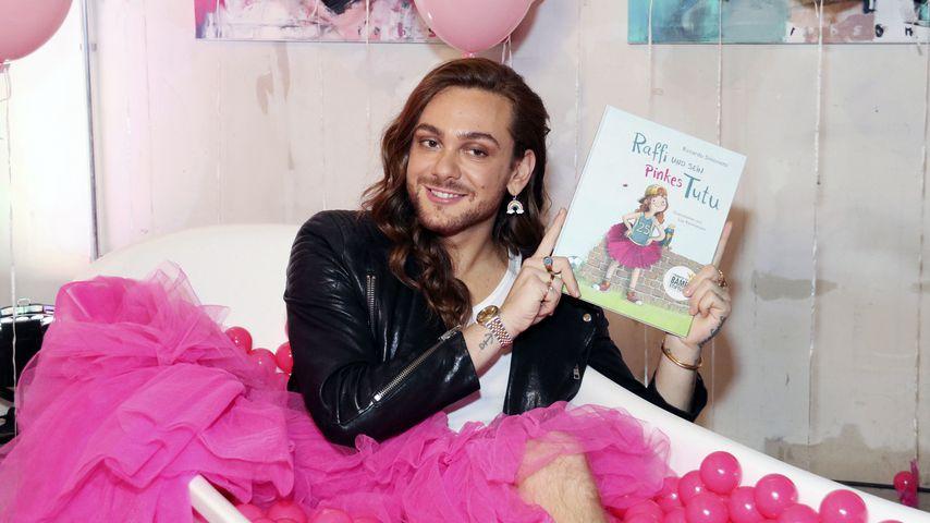 """Riccardo Simonetti bei der Party zu seinem Kinderbuch """"Raffi und sein Pinkes Tutu"""""""