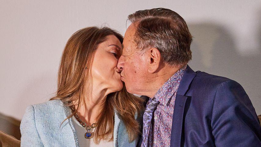 Richard Lugner und seine Freundin Andrea