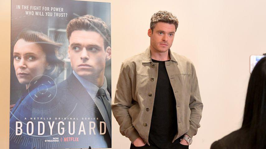 """Richard Madden beim Screening zur Serie """"Bodyguard"""""""