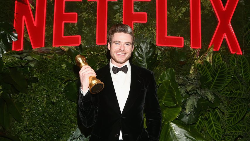 Richard Madden mit seinem Golden Globe