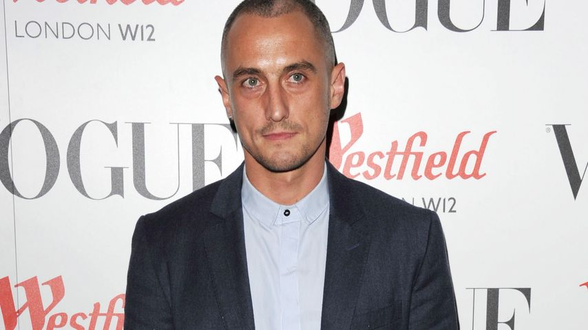 Designer Richard Nicoll bei der Eröffnung des Vogue Pop Up Clubs 2013