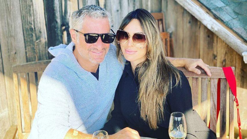 Rick Leventhal mit seiner Freundin Kelly Dodd im Mai 2021