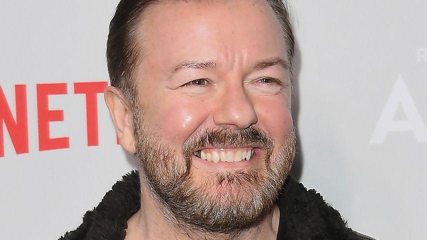 Ricky Gervais in New York, März 2019