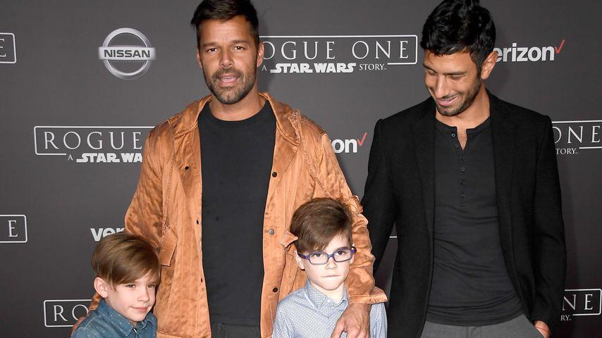 Ricky Martin outete sich für seine Kinder als homosexuell