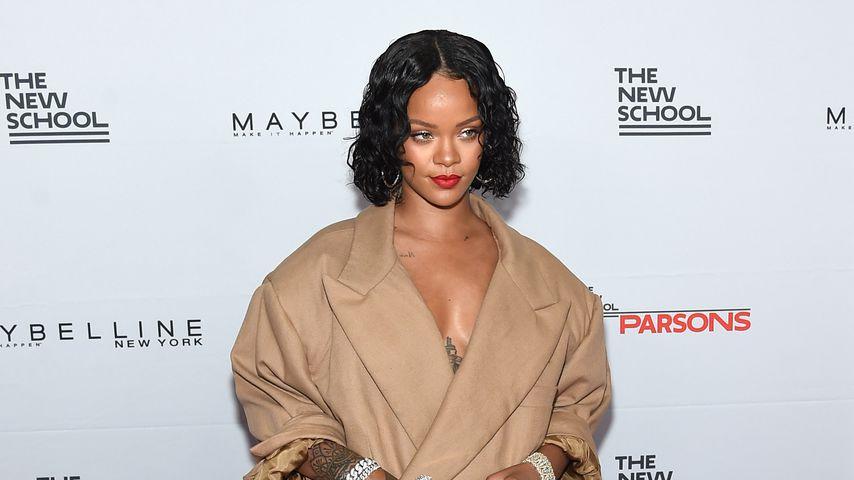 Wild! Rihanna mit fauchenden Leoparden auf dem Top