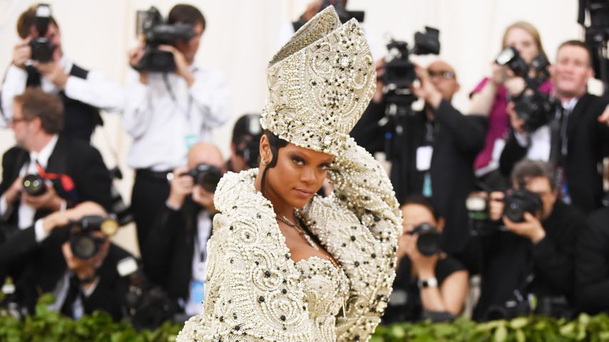 Rihanna, Fashion-Ikone bei der Met Gala 2018