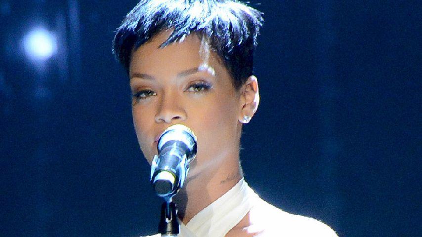 """Rihanna bei """"Wetten dass ...?"""""""