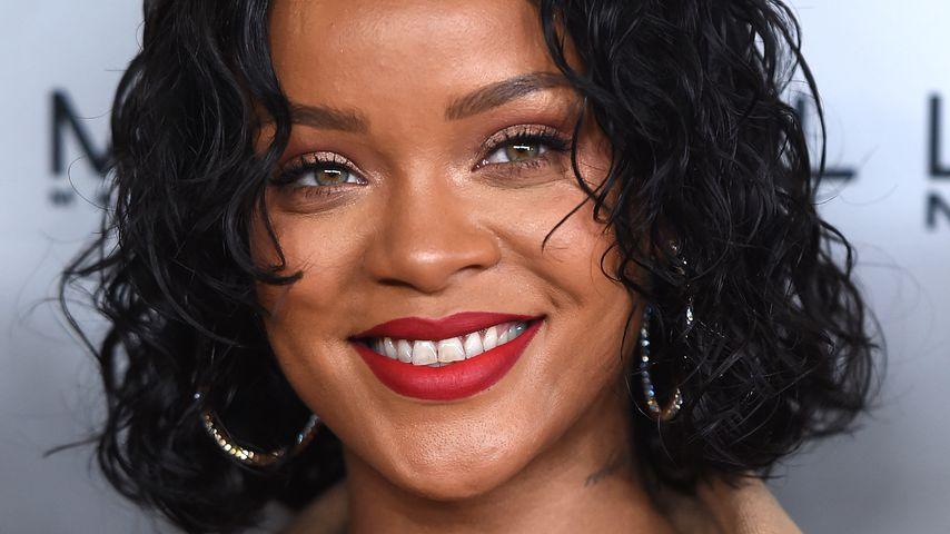 Rihanna bei einem Event in New York 2017