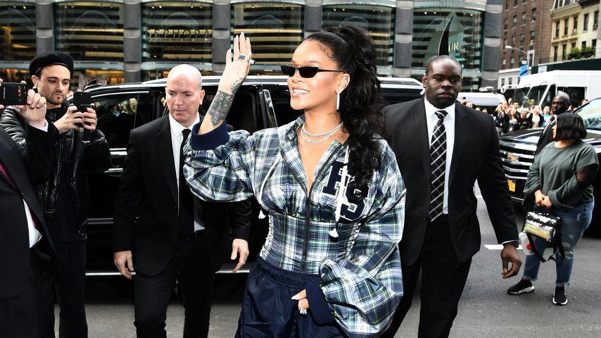 Musikerin Rihanna in New York
