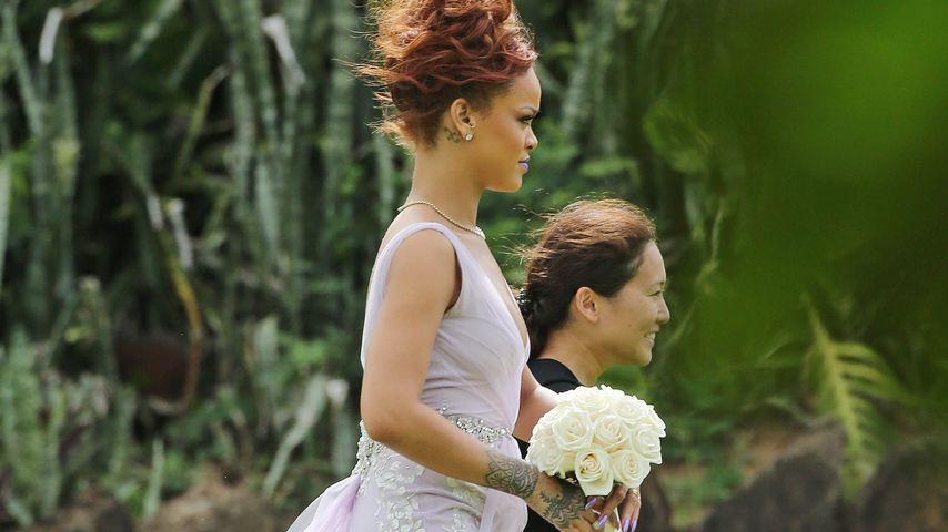 Heimliche Hochzeit? Rihanna im Traumkleid gesichtet