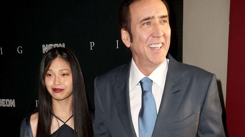 Riko Shibata und Nicolas Cage