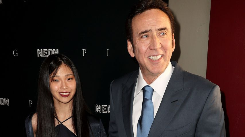 Nicolas Cage gibt Red-Carpet-Debüt mit seiner neuen Ehefrau