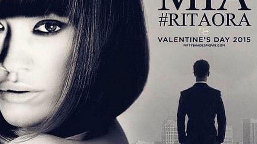 "Rita Ora postet ganz stolz ""Shades of Grey""-Plakat"