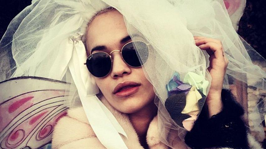 Abgefahrenes Braut-Bild: Wird Rita Ora so heiraten?