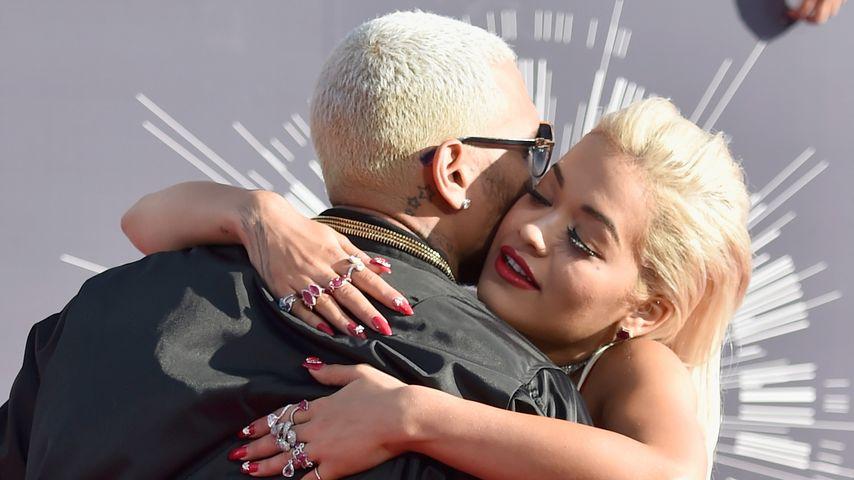 Chris Brown und Rita Ora
