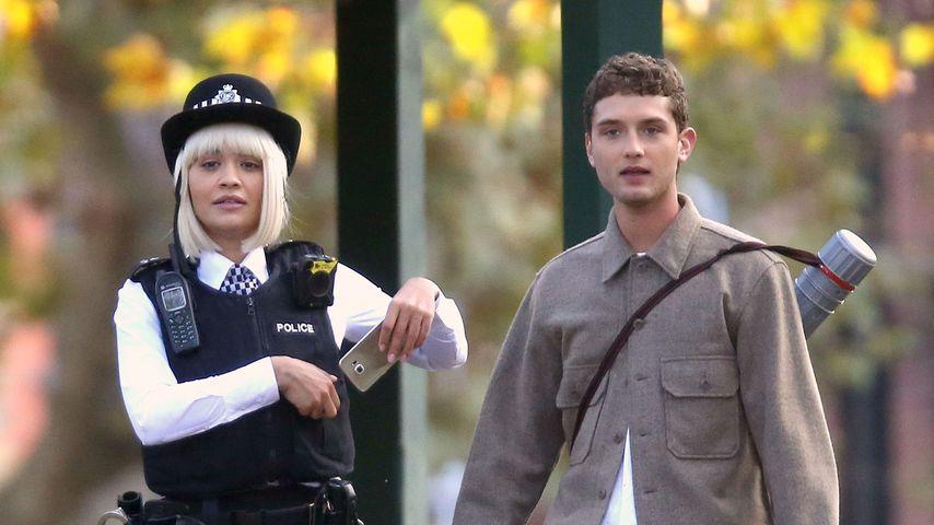 Was machen Rita Ora und Jude Laws Sohn Rafferty denn hier?