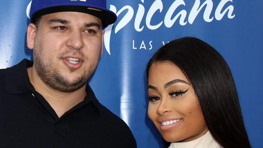 Rob Kardashian und Blac Chyna im Sky Beach Club in Las Vegas