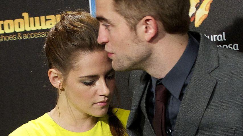 Geht da wieder was? Rob Pattinson & Kristen Stewart turteln!
