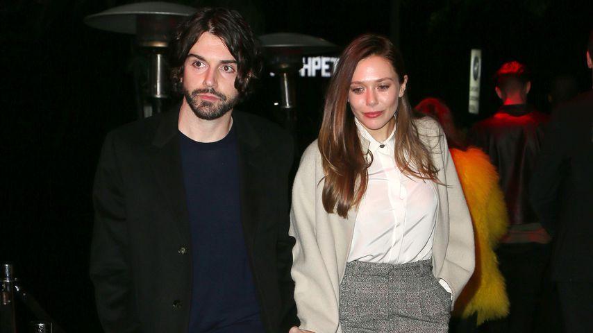 Robbie Arnett und Elizabeth Olsen in Los Angeles, März 2018
