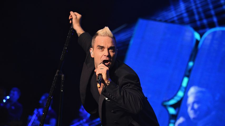 Robbie Williams 2015 in Monaco