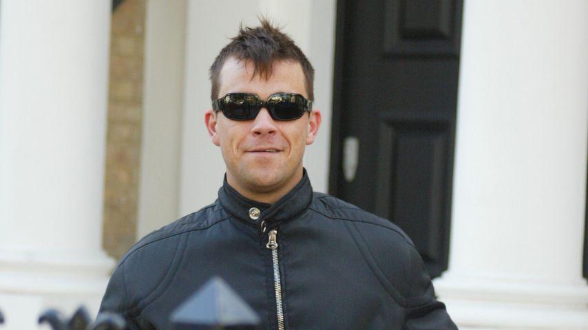 Robbie Williams im Oktober 2002