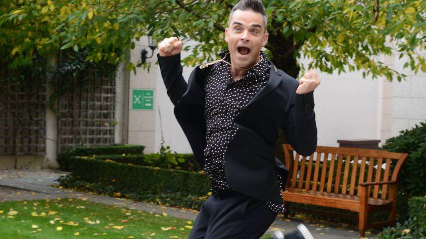 Nur Wasser: Robbie Williams hungert für neue Tournee!