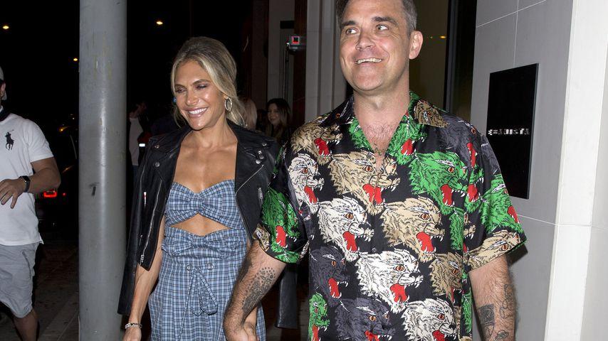 Nach Baby-News: Robbie Williams & Ayda beim ersten Date