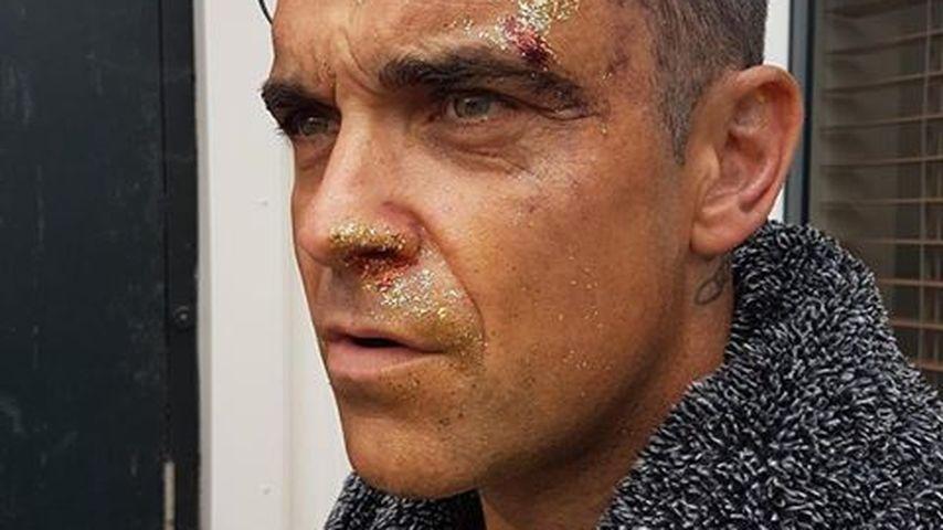 Von wegen Vorzeige-Daddy: So wild feiert Robbie Williams