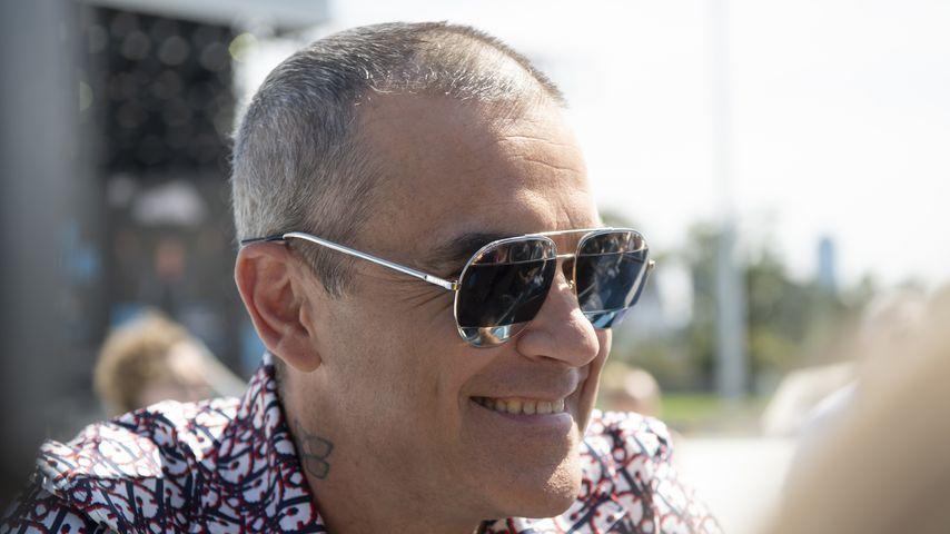 Robbie Williams im März 2020 in Melbourne, Australien