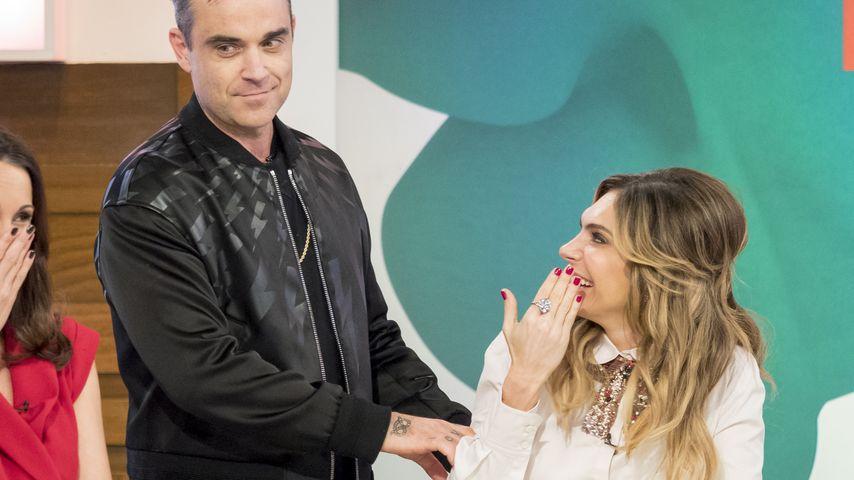 Robbie Williams empört: Ehefrau Ayda täuscht Orgasmen vor!