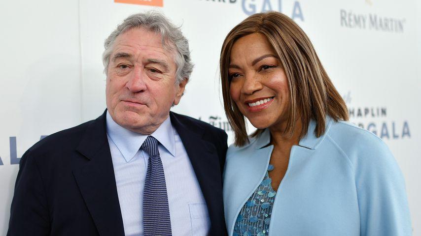 Robert De Niro und seine Frau Grace Hightower bei der Chaplin Award Gala