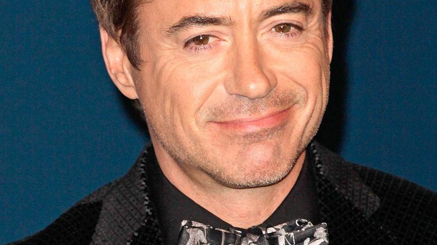Nach Verhaftung: Robert Downey Jr. steht Sohn bei