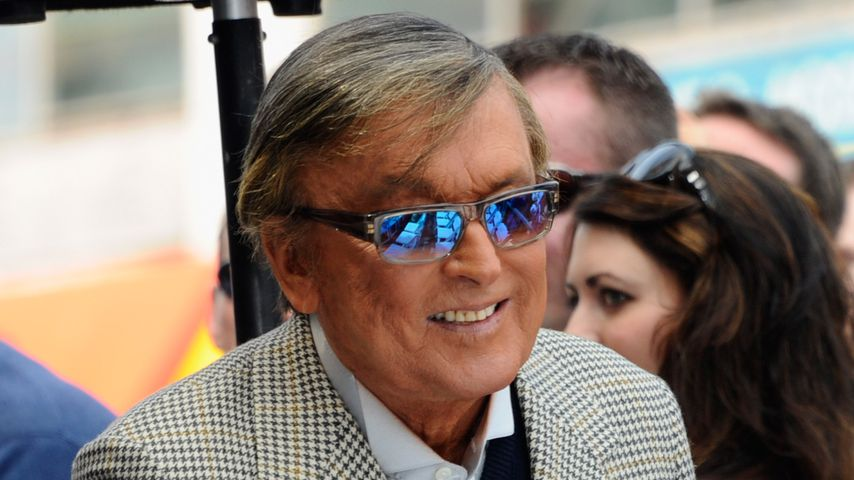 Robert Evans beim Hollywood Walk of Fame