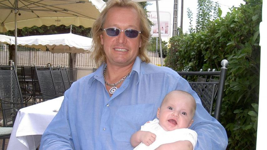 Robert Geiss und seine Tochter Davina