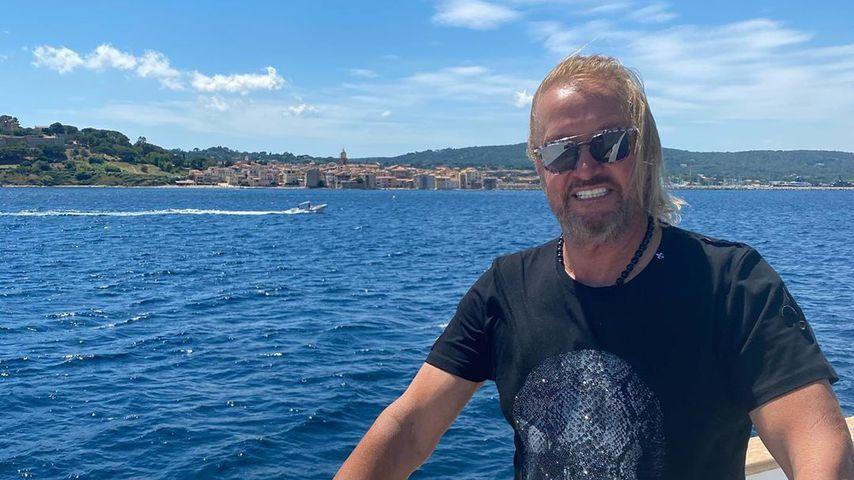 Robert Geiss im Juli 2020 in St. Tropez