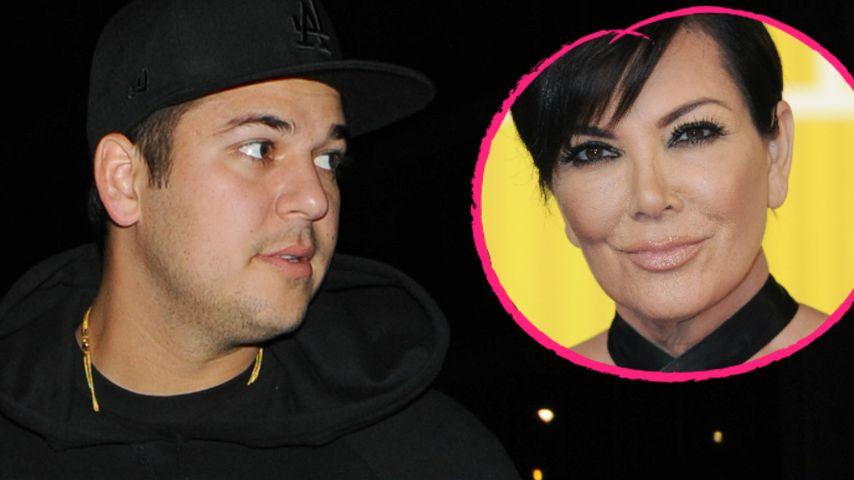 Hollywood-Pause: Nimmt sich Kris Jenner Zeit für Sohn Rob?