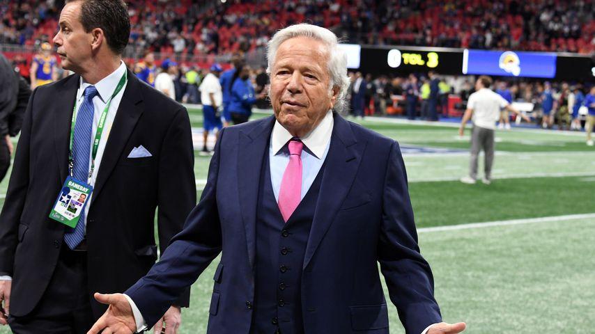 Robert Kraft beim Super Bowl 2019