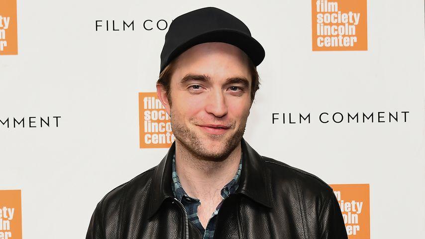 Robert Pattinson im April 2019 in New York