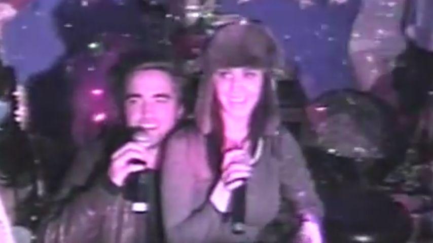Katy Perry & Rob Pattinson: Dichtes Karaoke-Duo