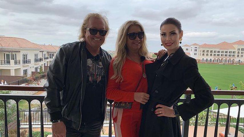 Robert und Carmen Geiss mit Dolmetscherin Carmen in Dubai