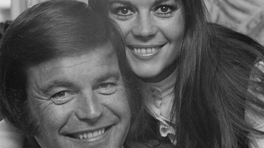 Robert Wagner und Natalie Wood im April 1972